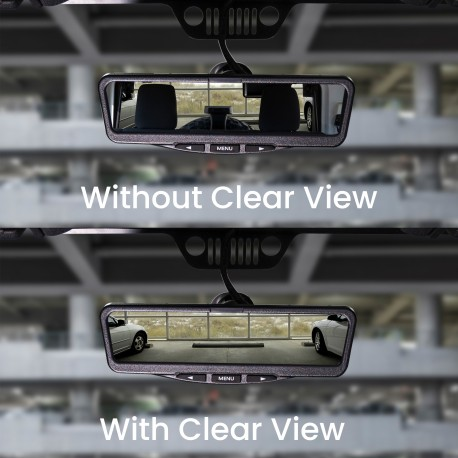 Clear View HD Mirror Kit for Jeep Wrangler