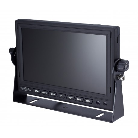 "7"" Dash Mount Quad Input Monitor"