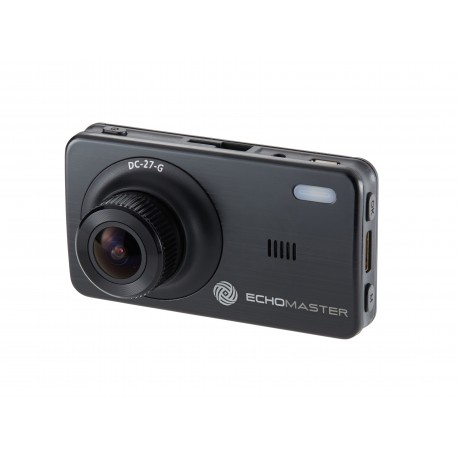 "2.7"" Dash Cam with Motion Detection and GPS"