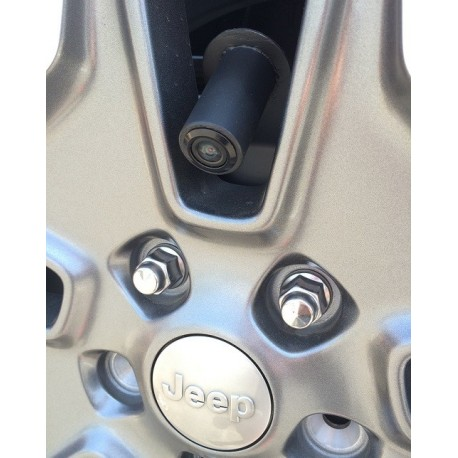 Jeep Spare Tire Mount Camera With Parking Lines And