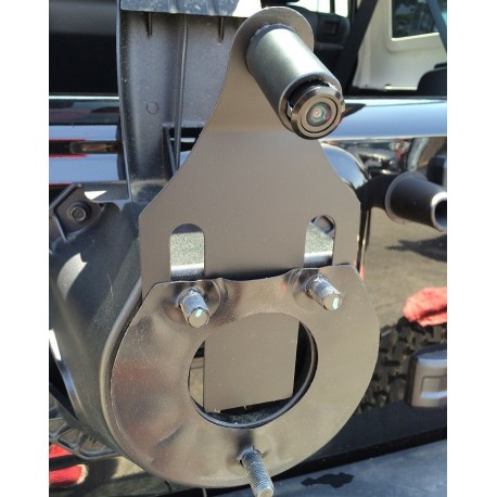CMOS Spare Tire Mount Camera with Parking Lines and Mounting Bracket