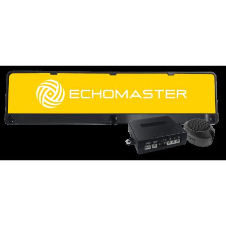 Rear EU Number Plate Sensor System
