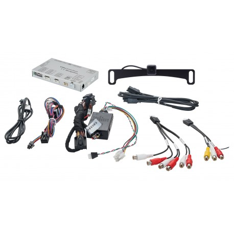 License Plate Mount Camera and Factory Interface Module