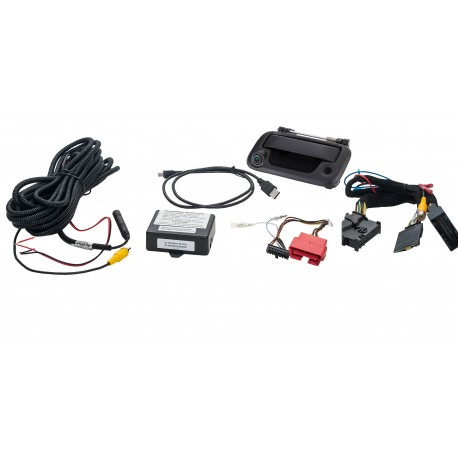 DISCONTINUED Tailgate Handle Reverse Camera Integration Kit for Select Fords