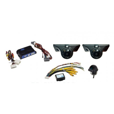 Complete Blind Spot Elimination and Lane Change Assistance System for Chrysler / Dodge / RAM / Jeep