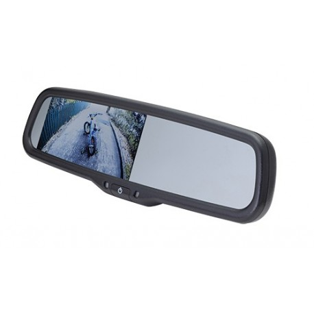 "Replacement Rearview Mirror with 4.3"" Monitor"