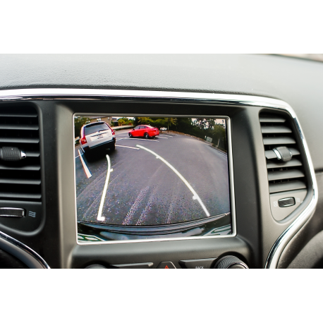 Universal Reverse Camera with Dynamic Parking Lines