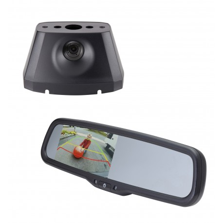 "Dodge Promaster OE Custom Fit Camera (PCAM-PM4-N) / 4.3"" Rear Camera Display Mirror (PMM-43-CJD-PL)"