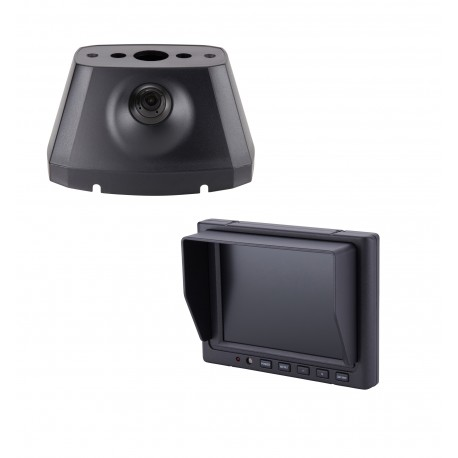 "Dodge Promaster OE Custom Fit Camera (PCAM-PM4-N) / 5"" Dash Mount Monitor (PMON-50-FM)"