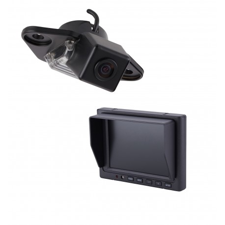 "Ford E-Series OE Custom Fit Camera (PCAM-FE6-N) / 5"" Dash Mount Monitor (PMON-50-FM)"