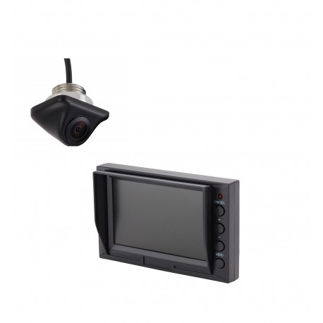 "Under Mount Camera (PCAM-110-N) / 4.3"" Glass Mount Monitor (PMON-43)"