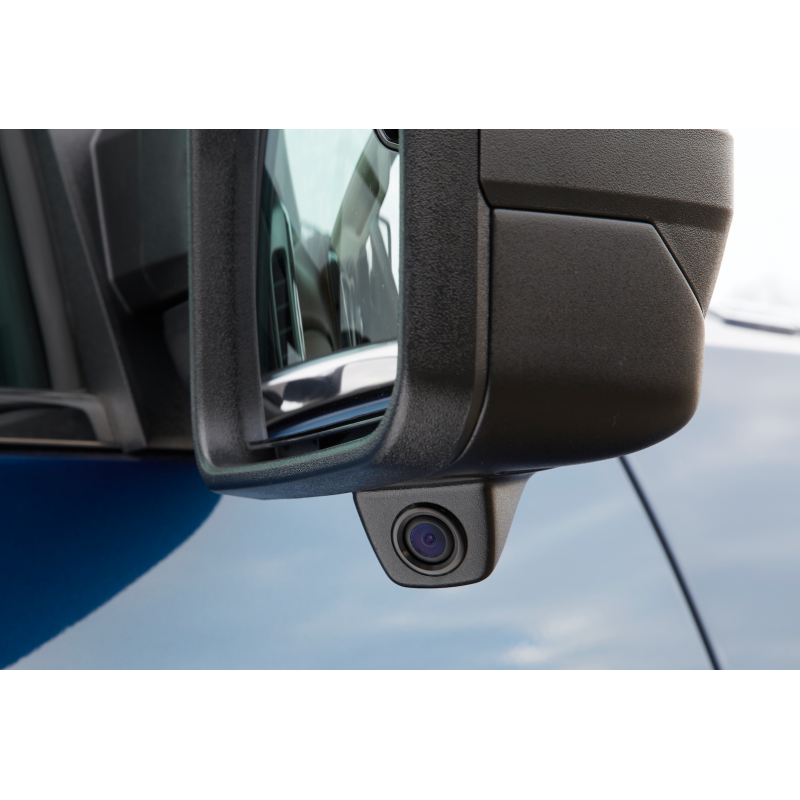 Blind Spot Integrated Camera System For Heavy Duty Trucks