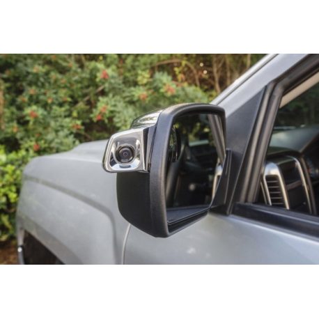 Blind Spot Integrated Camera System for Light Duty Trucks