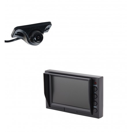 "Under Lip Mount Camera (PCAM-150-N) / 4.3"" Glass Mount Monitor (PMON-43)"