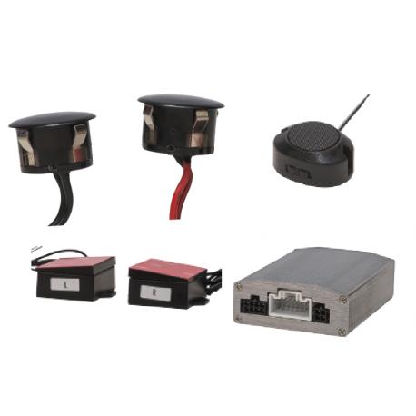 Microwave Sensor Side Blind Spot Detection System
