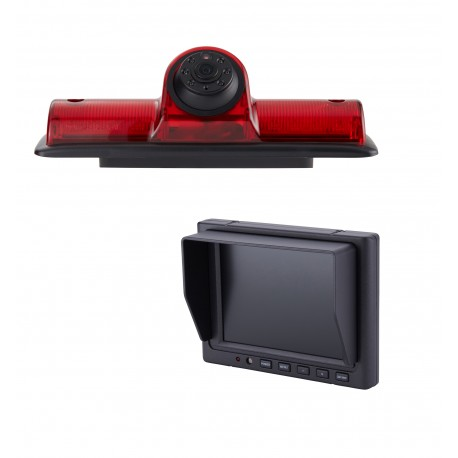"Nissan NV OE Custom Fit Camera (PCAM-NV4-N) / 5"" Dash Mount Monitor (PMON-50-FM)"