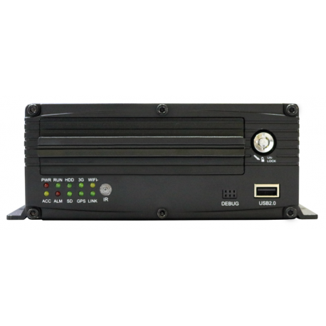 4 Channel DVR with HDD Input and GPS
