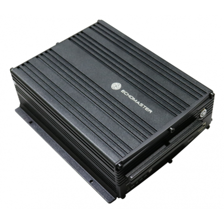 4 Channel HDD DVR With GPS and Wi-Fi