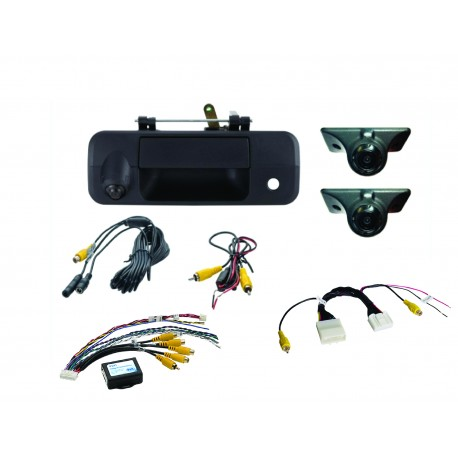 Blind Spot Elimination and Lane Change Assistance Kit for Select Toyotas