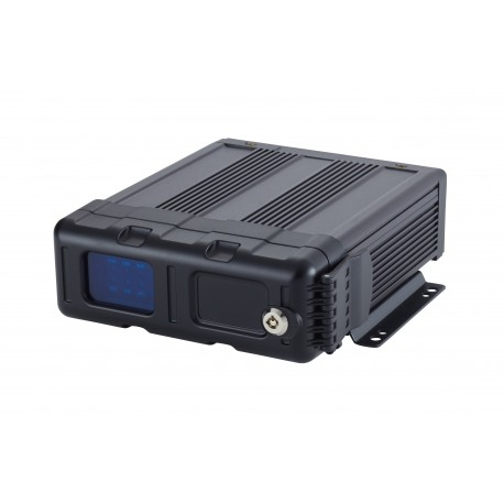 5 Channel Dual SD card DVR with HD input and GPS