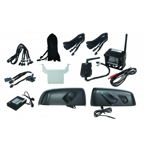 IntelliHaul for Silverado and Sierra with Trailering Extension Mirrors and Wireless Camera IOB