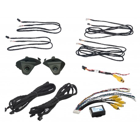 LANE CHANGE ASSISTANCE FOR FORD F150 TRUCKS (WITH ANY VIDEO MONITOR OR MIRROR WITH RCA VIDEO INPUT)