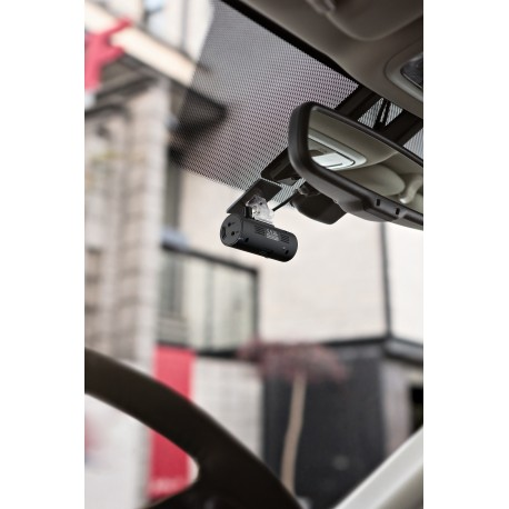 Windshield Mount Micro Two Channel Dash Cam with 32 GB SD Card