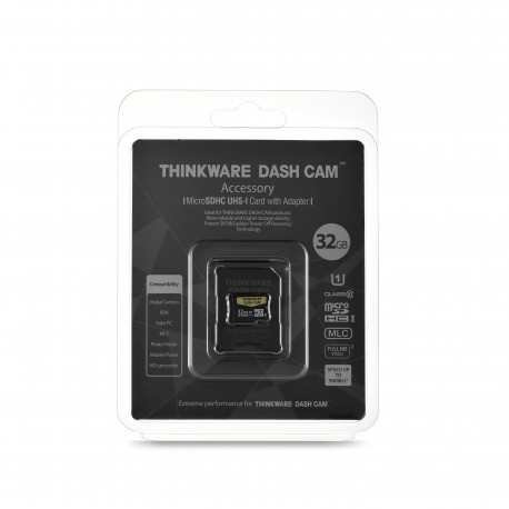 32 GB SD Card for Thinkware Dash Cams (all models)