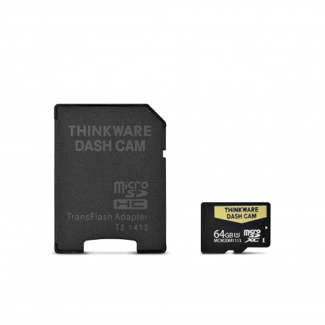 64 GB SD CARD FOR THINKWARE DASH CAMS (ALL MODELS)