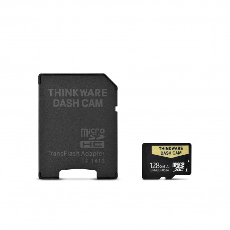 128 GB SD CARD FOR THINKWARE DASH CAMS (ALL MODELS)