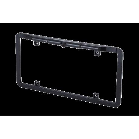"1/3"" CMOS Slim Full Frame License Plate Backup Camera with Dynamic Parking Lines Black"