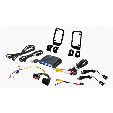 """LANE CHANGE ASSISTANCE FOR 2014-2018 RAM PROMASTER (WITH OEM 5.8"""" MONITOR)"""