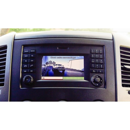 LANE CHANGE ASSISTANCE FOR MERCEDES-BENZ SPRINTER VANS (WITH ANY VIDEO DISPLAY WITH COMPOSTIE VIDEO INPUT)