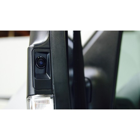 LANE CHANGE ASSISTANCE FOR MERCEDES-BENZ SPRINTER VANS (WITH MONITORS WITH MULTIPLE VIDEO INPUTS AND SWITCHING CAPABILITY)