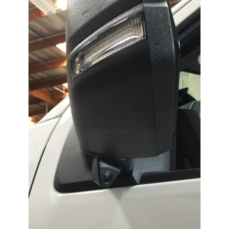 LANE CHANGE ASSISTANCE FOR FORD F-150 TRUCKS (WITH MONITORS WITH MULTIPLE VIDEO INPUTS AND SWITCHING CAPABILITY)