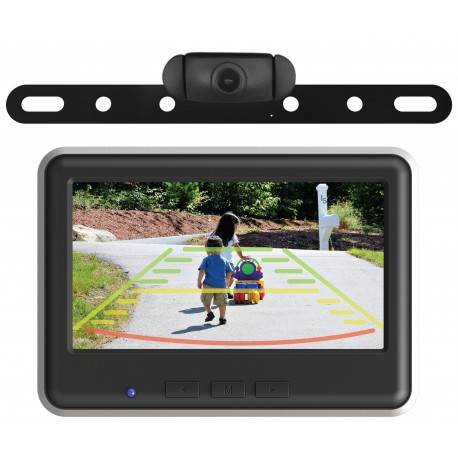 Wireless Backup Camera and Color Monitor Kit