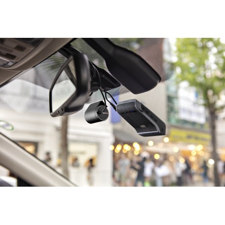2 CHANNEL PREMIUM 4K WINDSHIELD MOUNT DASH CAMERA WITH 2K REAR CAMERA, ADAS, CPL FILTER, 32 GB SD CARD, AND HARDWIRE KIT